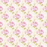 Картина с желтыми и розовыми розами Стоковые Изображения