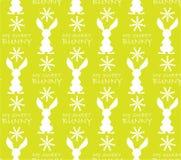 Картина с зайцами и надписями бесплатная иллюстрация