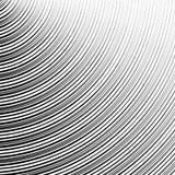 Картина с динамическим, линии сложной формы круга Геометрический циркуляр Стоковое Фото