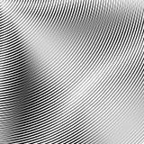 Картина с динамическим, линии сложной формы круга Геометрический циркуляр Стоковое фото RF