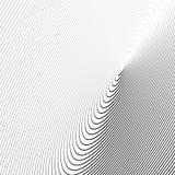 Картина с динамическим, линии сложной формы круга Геометрический циркуляр Стоковая Фотография
