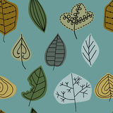 Картина с лист, абстрактная текстура лист Стоковое фото RF