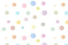 Картина с кругами Стоковое Изображение RF