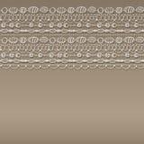 Картина с кружевным дизайном Стоковое Изображение