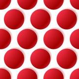 Картина с накаляя кругами Поставленная точки картина плавно повторение иллюстрация штока
