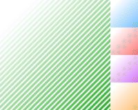 Картина с наклонять, раскосные линии - прямо, параллельное obliq иллюстрация штока