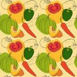 Картина с овощами Стоковые Изображения RF