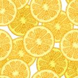 Картина с оранжевыми клин иллюстрация вектора