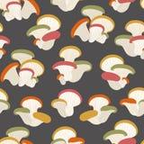 Картина с орнаментом грибов бесплатная иллюстрация