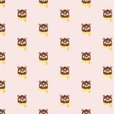 Картина с плюшевыми медвежоатами Стоковые Изображения RF