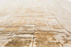 Картина с ритмом текстуры от каменных плит Стоковая Фотография RF