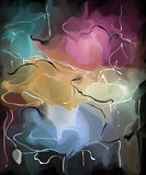 Картина с розами Стоковая Фотография