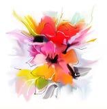 Картина с розами Стоковые Фото