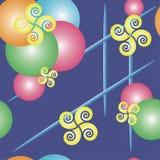 Картина с улиткой Стоковое Изображение RF