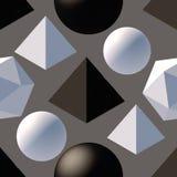 Картина с формами 3d Стоковое Фото