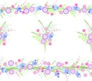 Картина с цветками Стоковое фото RF