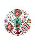 Картина с цветками Стоковые Изображения RF