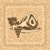 Картина с gammon Стоковая Фотография RF