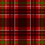 Картина тартана вектора безшовная шотландская Стоковое Фото