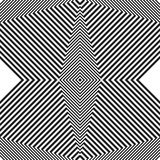 Картина, текстура с геометрической структурой линий Monochrome c иллюстрация штока
