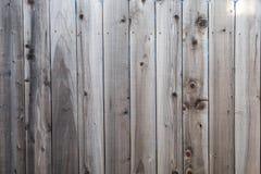 Картина текстуры загородки вертикальная деревянная Стоковое Изображение RF