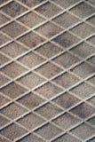 Картина текстуры ржавого диаманта металлопластинчатая используемая как абстрактное backg стоковые изображения rf