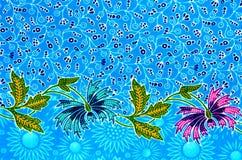Картина ткани батика Стоковые Фотографии RF