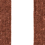 Картина ткани, интерьер ткани, холст охры, материал хлопка, пустая предпосылка Стоковое Изображение