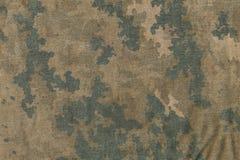 Картина ткани камуфлирования Grunge Стоковые Фото