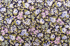 картина ткани флористическая Стоковое Изображение