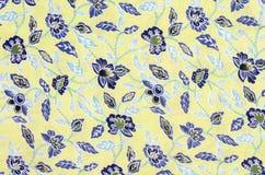 картина ткани флористическая Стоковая Фотография