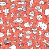 Картина товаров младенца Стоковые Фото