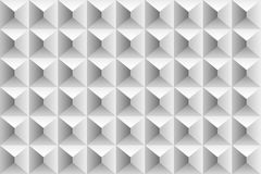 Картина тома кубов и треугольников серая Стоковое фото RF
