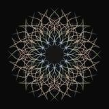 Картина тонких линий Цветок от провода также вектор иллюстрации притяжки corel иллюстрация вектора