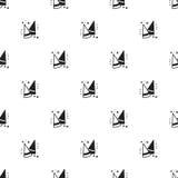 Картина торжества партии безшовная День рождения, праздники, событие, печать масленицы праздничная Элементы оформления партии уто Стоковые Изображения RF