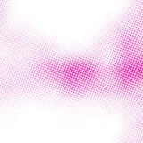 Картина точек полутонового изображения Стоковые Фотографии RF