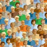Картина толпы Стоковые Фотографии RF
