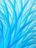 Картина травы абстрактного Aqua голубая белая Стоковая Фотография