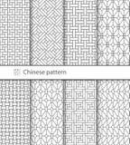Картина традиционного китайския безшовная для вашего дизайна вектор Справочная информация Стоковое фото RF