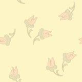 Картина традиционного китайския флористическая безшовная для вашего дизайна Справочная информация вектор Стоковое Изображение RF