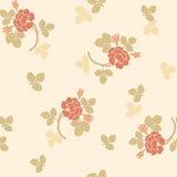 Картина традиционного китайския флористическая безшовная для вашего дизайна Справочная информация вектор Стоковые Изображения