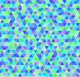 Картина треугольника вектор предпосылки безшовный иллюстрация штока