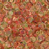Картина треугольника в цветах гренадина и апельсина Стоковые Изображения