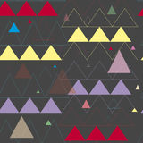 Картина треугольника Стоковое Фото