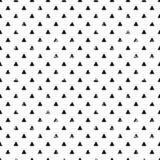 Картина треугольника Grunge безшовная Стоковое Изображение RF