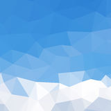 Картина треугольников геометрических форм цветасто Стоковое Изображение