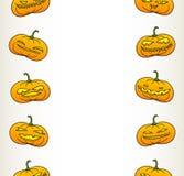 Картина тыкв хеллоуина Стоковые Изображения RF