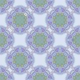 Картина флористического вектора безшовная в мягких цветах Стоковое Изображение RF