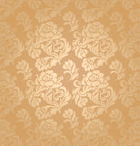 картина флористического орнамента предпосылки безшовная Стоковые Фотографии RF