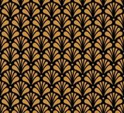 Картина флористического стиля арабескы вектора безшовная абстрактный орнамент предпосылки Иллюстрация вектора